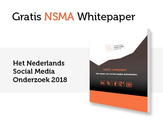 NSMA Whitepaper: het Nederlandse Social Media Onderzoek 2018