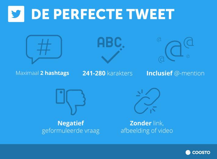 Waar een perfecte tweet aan moet voldoen