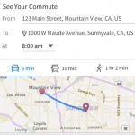 Reistijden bij vacatures van LinkedIn Jobs
