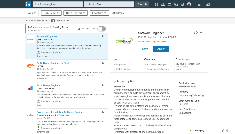 Nieuwe functies voor LinkedIn Jobs