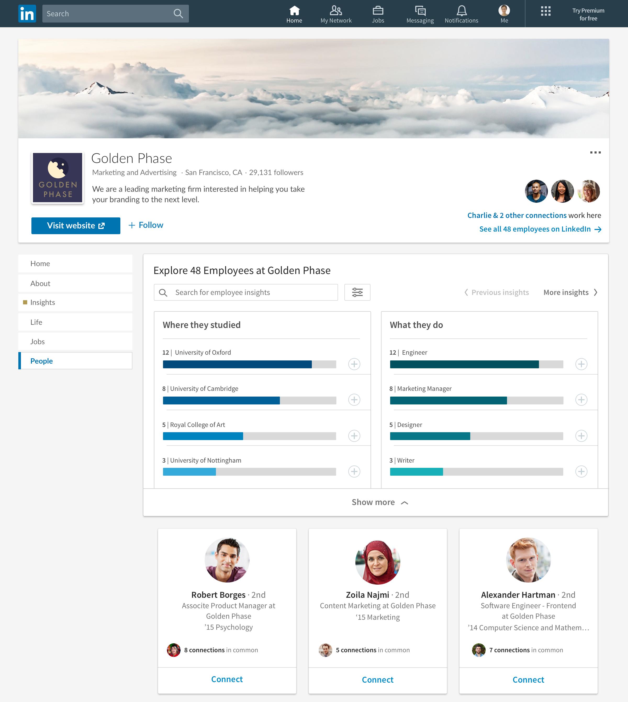 LinkedIn bedrijfspagina's nieuwe functies voor gebruikers