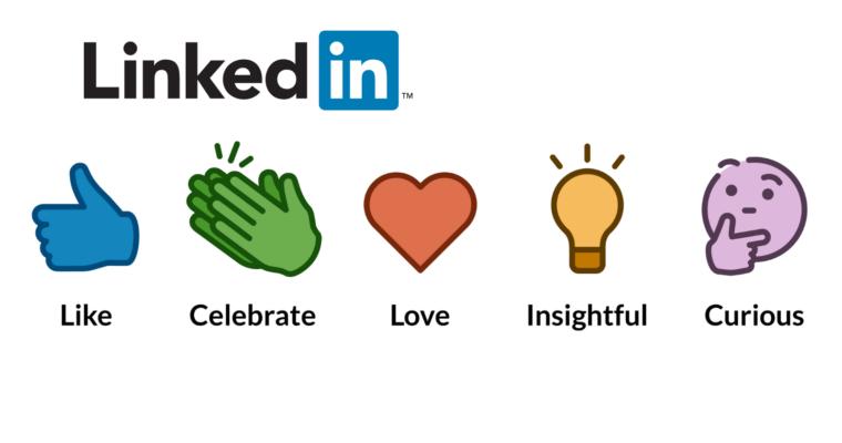 LinkedIn Reactions helpt gebruikers om snel te reageren op berichten in de tijdlijn