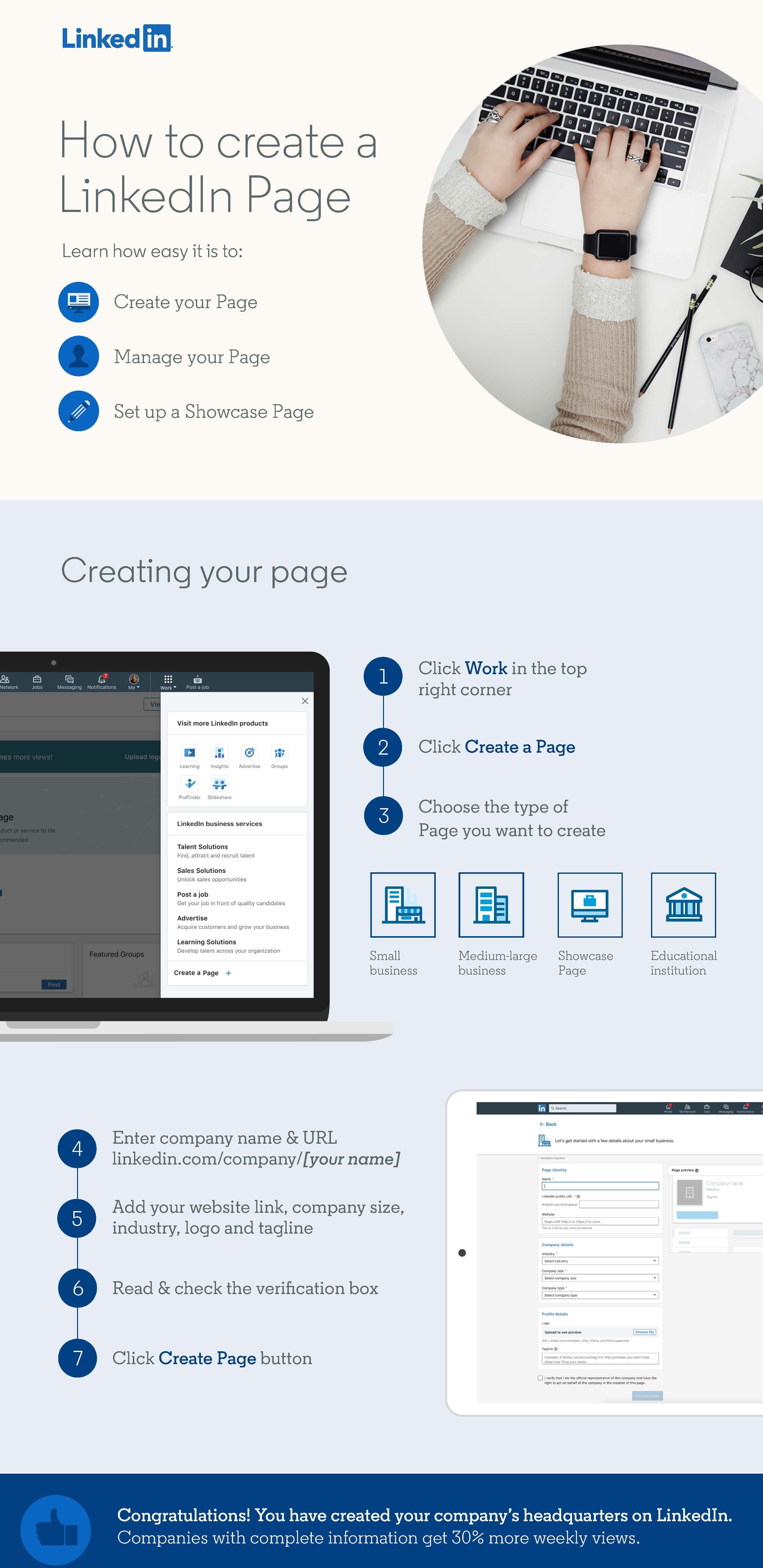 Tips - LinkedIn bedrijfspagina opzetten in 7 stappen