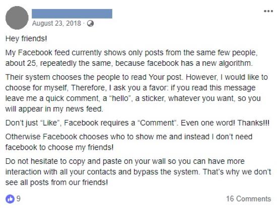 Facebook nieuwsoverzicht wordt persoonlijker door updates