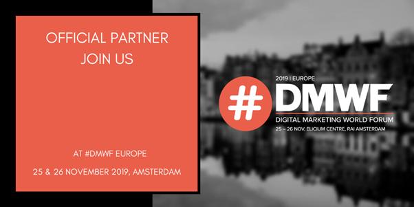 Ontdek de laatste trends over digitale marketing tijdens #DMWF Europe 2019